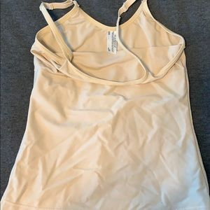 Nude slimming camisole